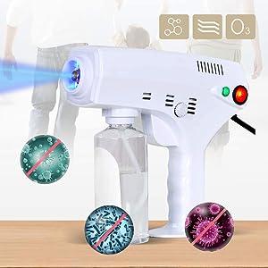 YESOK Nano Steam Gun Disinfection Spray Gun Salon Hair Colouring Dyeing Moisturizing Repairing Steamer Face Skin Care Spa Atomizer Machine