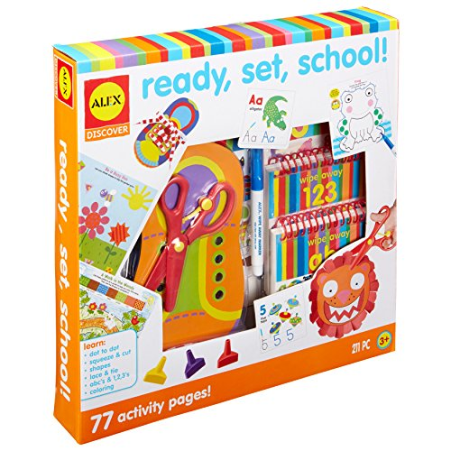 Alex Discover Ready Set School Craft Kit Kids Art and Craft Activity