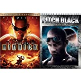 CHRONICLES OF RIDDICK & PITCH BLACK Unrated Director's Cut DVD 2-Pack (Vin Diesel) Both UNRATED DIRECTOR'S CUT DVD