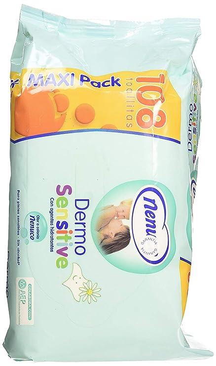 Nenuco Toallitas Dermosensitive para pieles sensibles 108 unidades