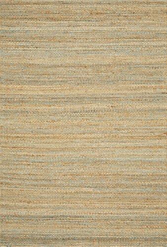Dalyn Natural (Dalyn Rugs BN100 Banyan Cotton Canvas, 9 x 13-Feet, Teal)