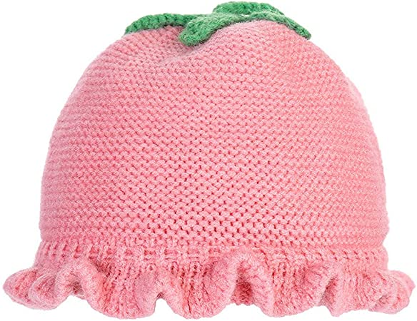 Nouveau TwoCC-Bonnet Tricoté, Petit Garçon Hiver Fille Petit Chapeau de HQ-12