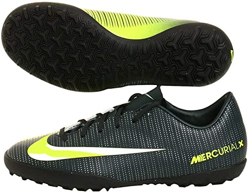 3Y Racer Blue Nike Junior Neymar MercurialX Victory VI Turf Shoes