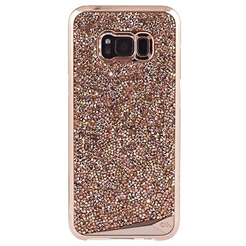 - Case-Mate Samsung Galaxy S8+ Case - BRILLIANCE - Rose Gold