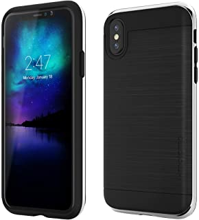 8eeefc4e72 motomo iPhone XS/X ケース INFINITY ブラック シルバー(モトモ インフィニティ)アイフォン カバー 5.8