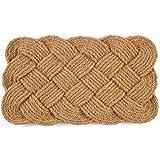 "front door color ideas Entryways Knot-Ical , Hand-Stenciled, All-Natural Coconut Fiber Coir Doormat 18"" X 30"" x .75"""