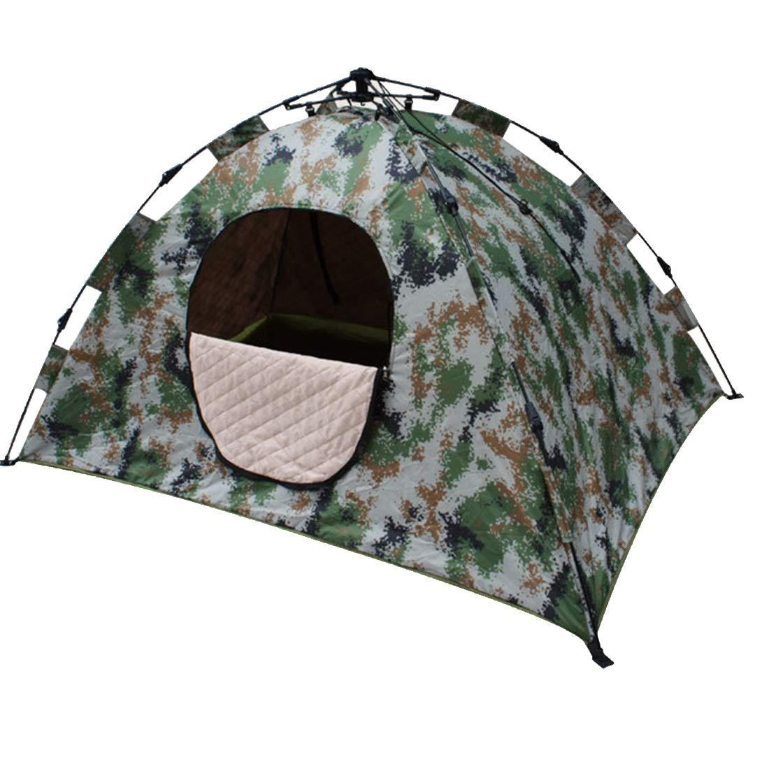 Ploekgda Automatisches Tarnungs-Zelt, 2 Perosn für Das Kampieren im Freien (Farbe : Camouflage)