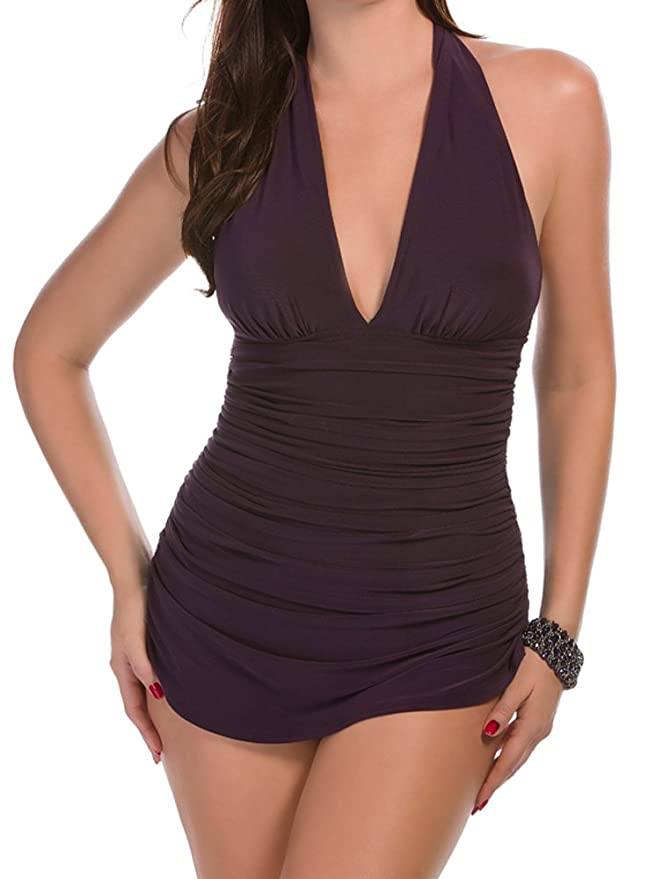 0f7f0ce74174 Magicsuit Solid Yvonne Tummy Control One Piece Swimsuit at Amazon Women s  Clothing store