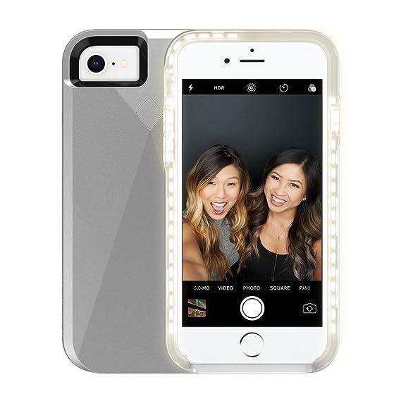 Incipio WM-IPH-1622-SLV LUX Brite Case for iPhone 8, 7, 6s & 6 - Silver
