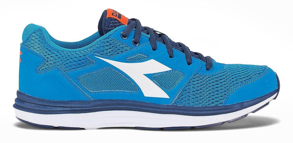 Amazon.com | Diadora Shoes Running Sneaker Jogging Men Heron Sky-Blue/White Size | Fashion Sneakers