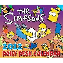 The Simpsons 2012 Daily Desk Calendar