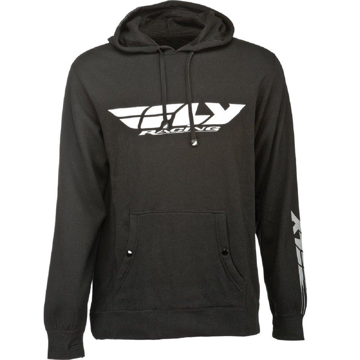 Small Fly Racing Corporate Mens Black Hoody