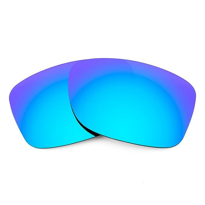 Revant Lentes polarizados para Oakley Jupiter Factory Lite (Azul Hielo) MirrorShield®
