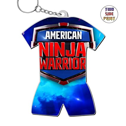 Amazon.com : Keychain American Ninja Warrior Keyring World ...