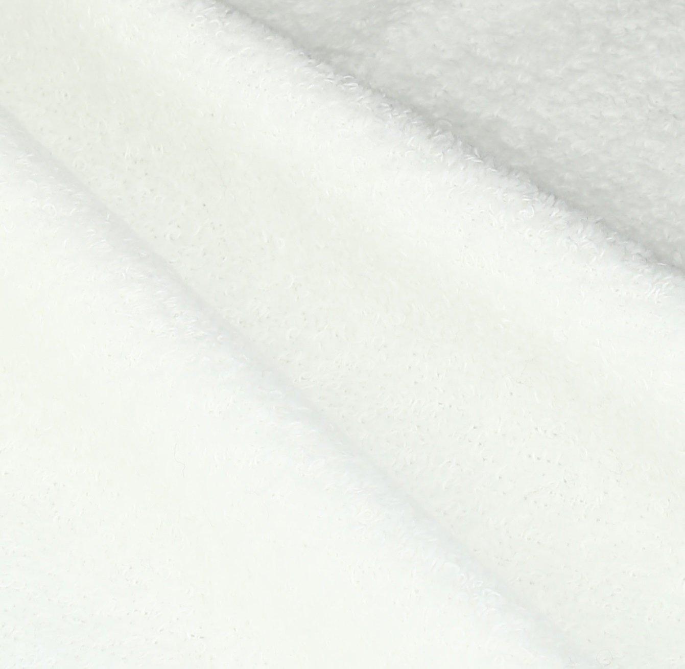 White 19494WHT Avanti Linens Friendly Gathering Fingertip Towel