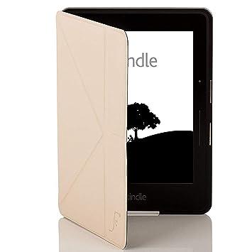 Forefront Cases® Kindle Voyage Origami Funda Carcasa Caso Smart Case Cover – Ultra Delgado Ligera y Protección Completa del Dispositivo con Función ...