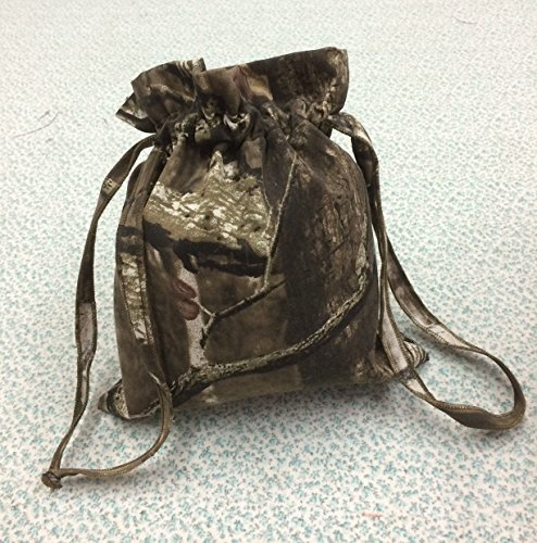 Custom Made Money Bag for Wedding Day Dollar Dance Camoflauge Military print