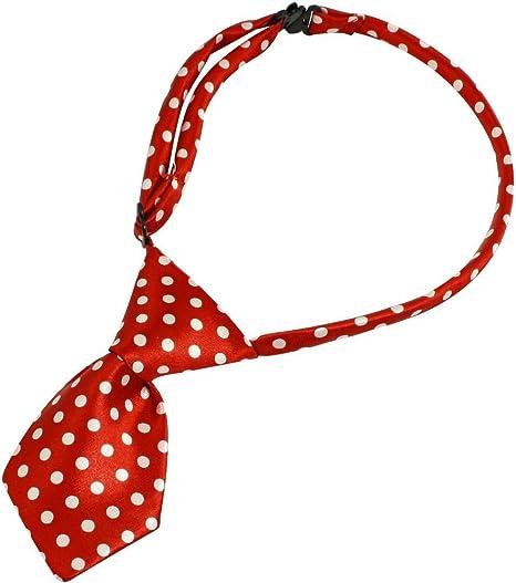 WOVELOT Rojo Accesorio Corbatas de Lazo Corbatas Collar para ...