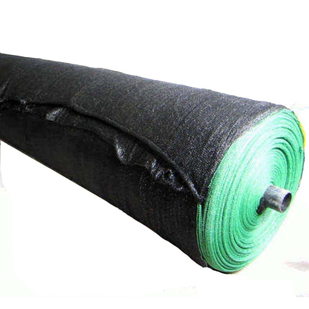 GJM Shop durabilità nero Net Sun Reticolato Detriti Impalcatura Mesh Recinzione Giardino Crop Ombra 2x50m Peso Leggero (colore   3-Pin, Dimensioni   2  50m)