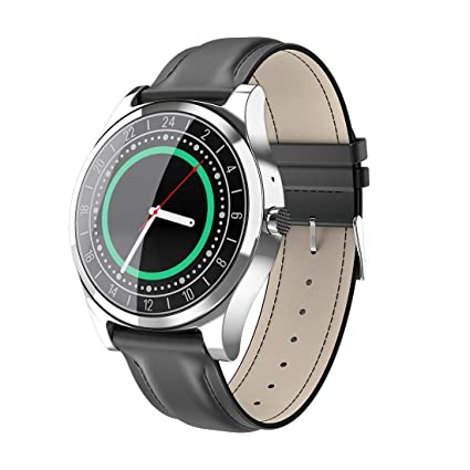 Amazon.com: Smart Watch DT19 Bluetooth Men Metal Wristwatch ...