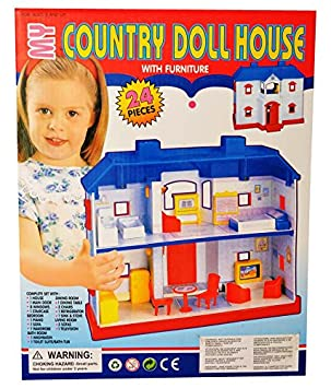 A R Enterprises Multicolor Doll House Dolls   Accessories