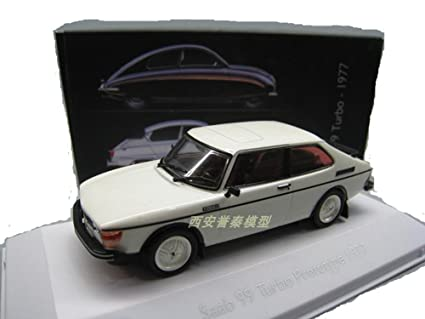 bo wen 1/43 SAAB 99 TURBO PROTOTYPE 1977 CAR MODEL