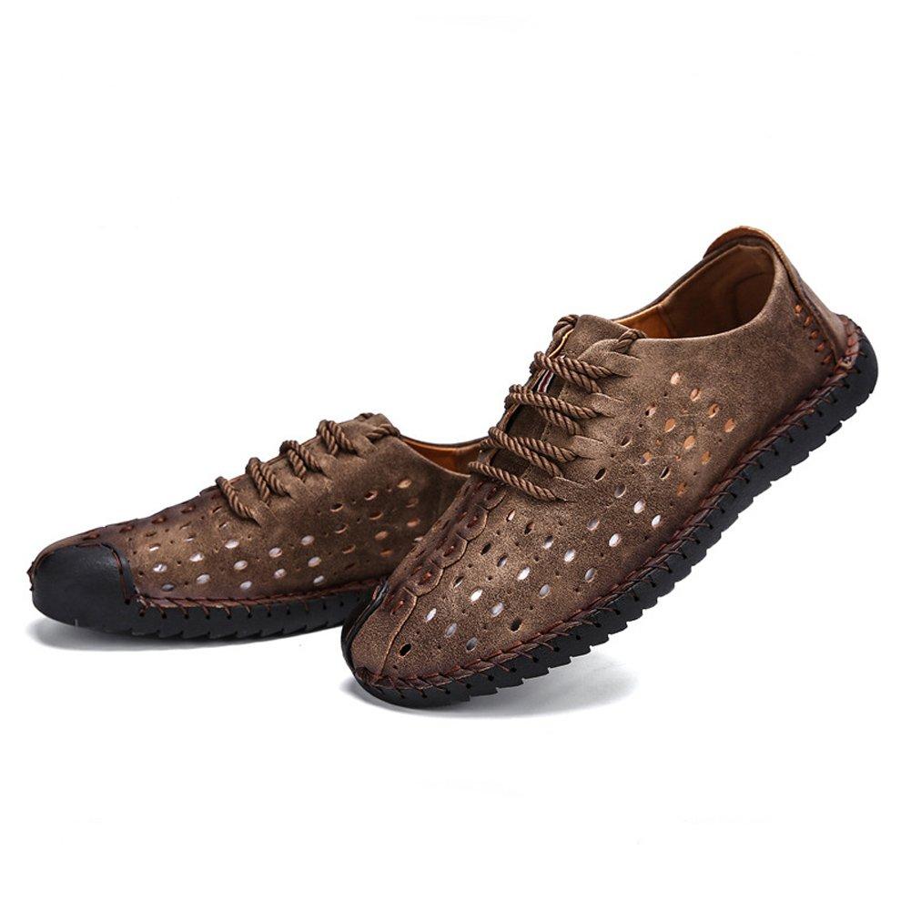 Maizun Men's Sport Sandals Outdoor Fisherman Sandals Breathable Casual Leather Summer Sandals