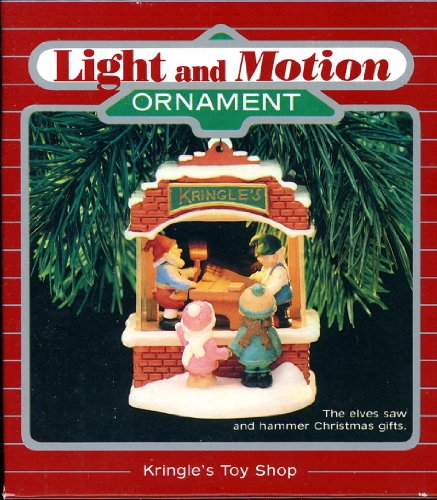 (Hallmark Keepsake Magic Ornament - Kringle's Toy Shop 1987 QLX7017 Light and Motion)
