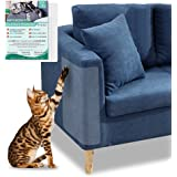 FTSTC Cinta disuasoria para gatos, 10 protectores de muebles de doble cara de gatos, almohadilla repelente de arañazos para m