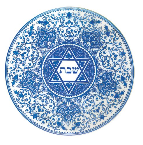(Spode Judaica Round Challah Tray)