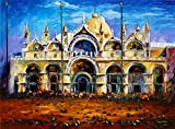 Venice Pigeons On San Marco is a Limited Edition print from the Edition of 400. The artwork is a hand-embellished, signed and numbered Giclee on Unstretched Canvas by Leonid Afremov. Embellishment on each of these pieces will be slightly different, b...