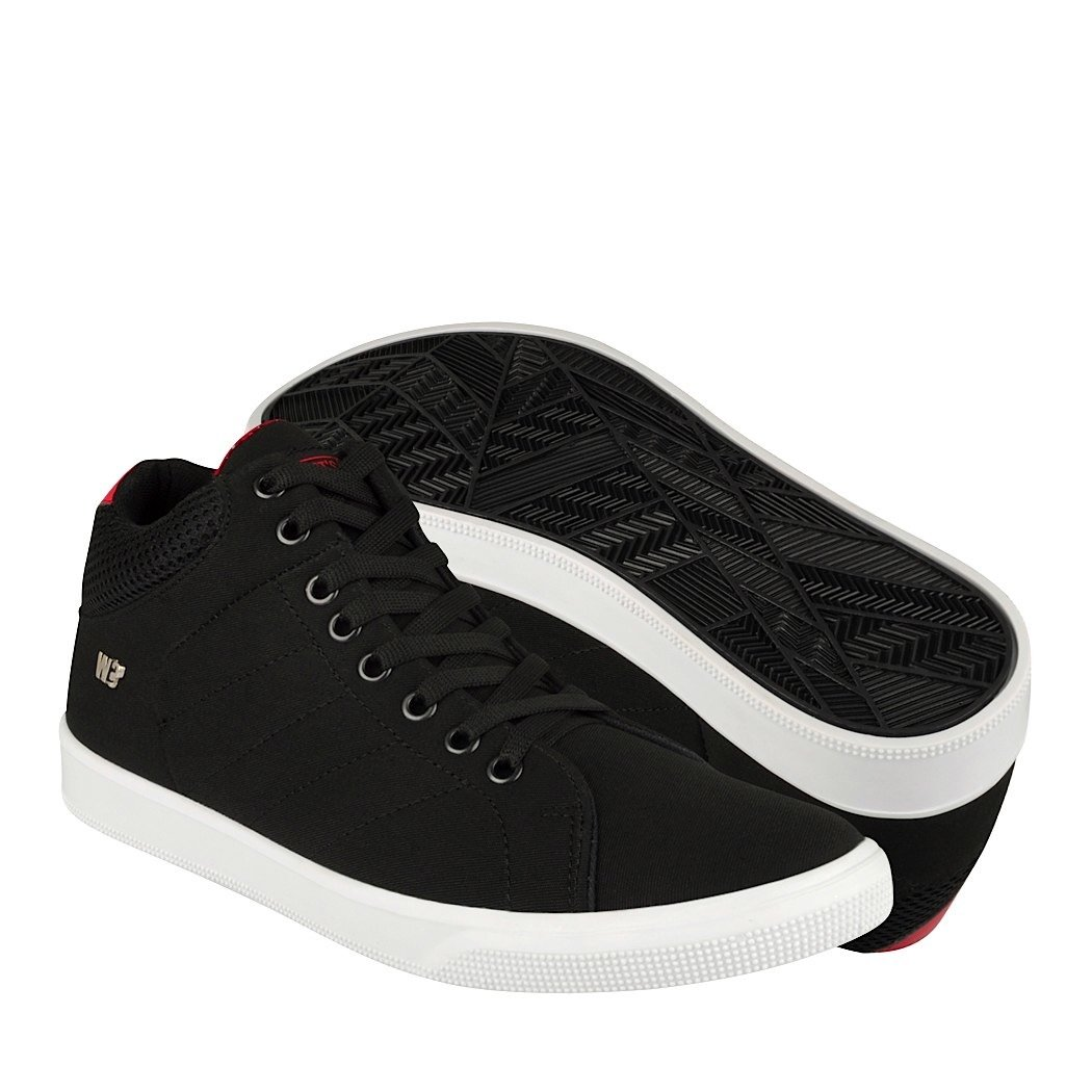 WHATS WHATS WHATS UP Zapatos ATLETICOS Y URBANOS 151066 25-29 Textil Negro 4c6938