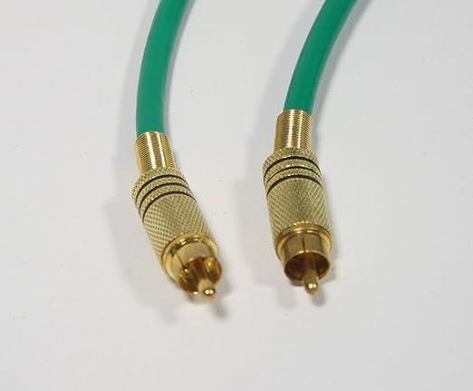 Cable Cordón Video Compuesto RCA M/M sobre KX6 30 m: Amazon.es: Electrónica