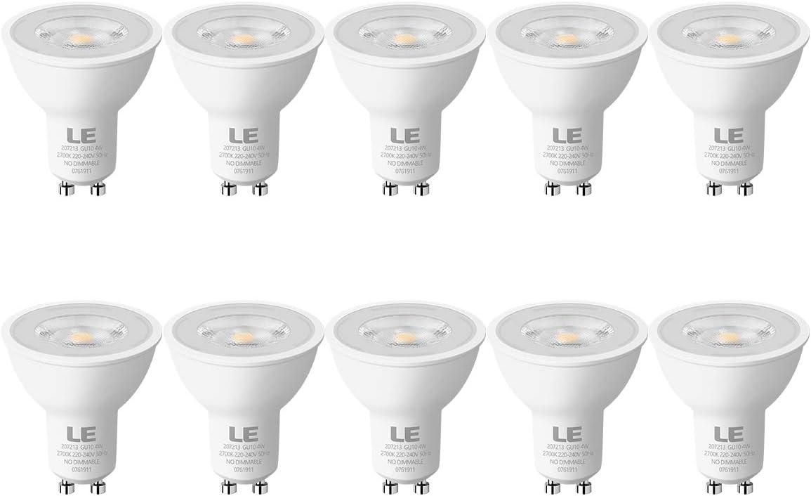 5er-Pack. EACLL 5W GU10 LED Lampe Warmwei/ß 2700K LED Lampen 470 Lumen LED Leuchtmittel Kann perfekten Ersatz f/ür 50W Halogenlampe Abstrahlwinkel 120/° LED Birnen