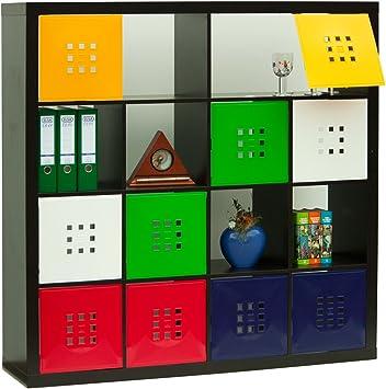 DEKAFORM – Puerta para cubo de Flexi Uso IKEA Estantería Expedit + Kallax con nörnäs * Azul