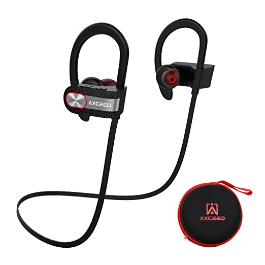 43 opinioni per Axceed Wireless Sport Earphone CSR4.1 Sweatproof Bluetooth Headphone with Mic