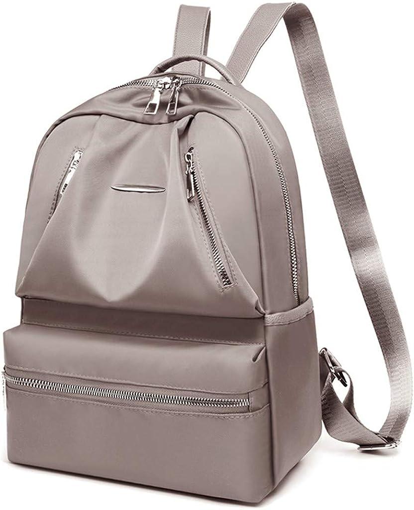 DENER/_Bags Women Backpack Purse Waterproof Nylon Anti-Theft Daypack Lightweight School Shoulder Bag,Casual Daypack Laptop Bag