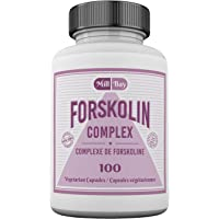 Mill Bay Forskolin Extract – Weight Loss Support, Fat Burn & Appetite Suppressant for Men & Women. Whole Body & Heart Health Supplement. 100 Vegan, Non-Gmo Capsules (Super Strength 500mg).