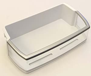 OEM LG Refrigerator Door Bin Basket Shelf Tray Assembly Originally Shipped With: LFX28968SB, LFX28968ST, LFX28968SW, LFX28968SB