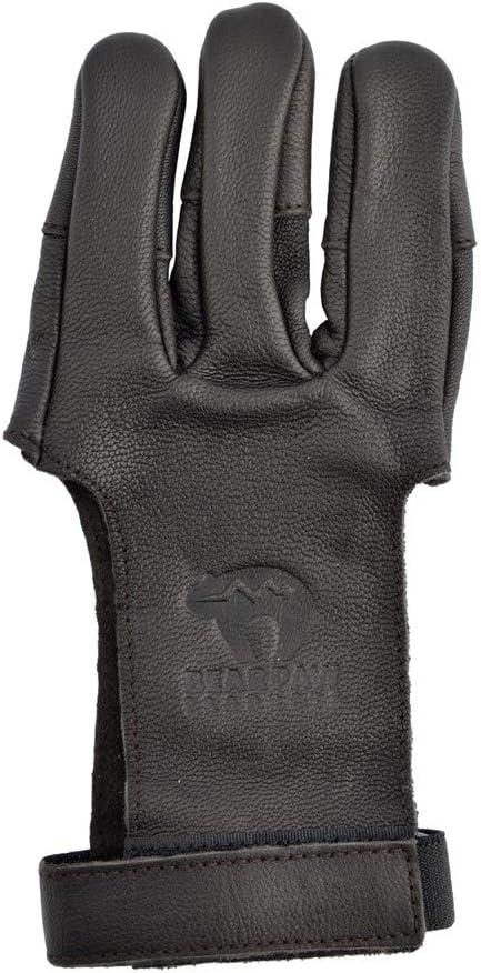 Bearpaw Bogenhandschuh Schie/ßhandschuh Zielgenleder S-XL Damaskus XS-XL