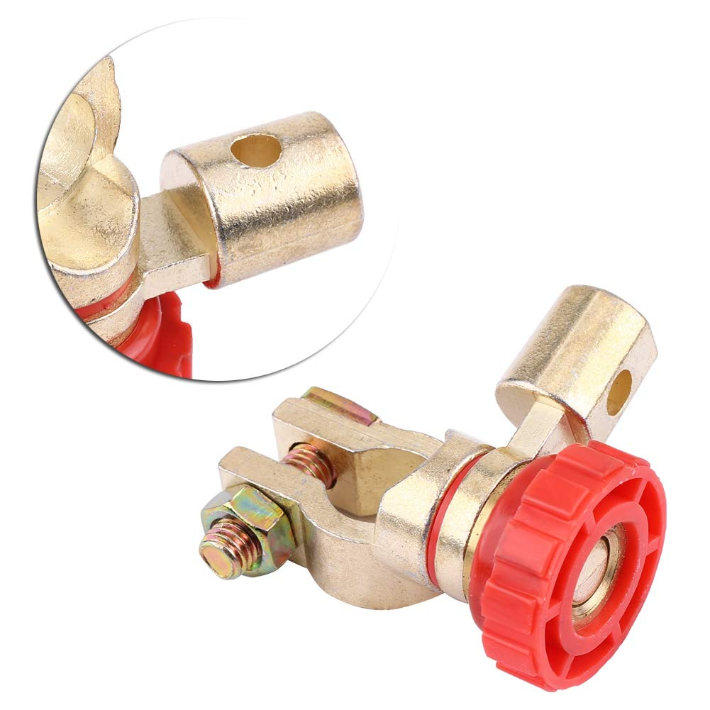 Interruptor de Corte Terminal de Enlace de la Bater/ía del Auto del Autom/óvil Corte R/ápido Desconexi/ón Matriz de Apagado Interruptor de Apagado de la Bater/ía Red