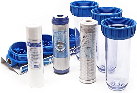 Naturewater NW-BR10B4 Filtro de agua 3-etapas 20,67mm (1/2 ...