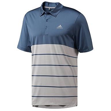 86ab4162 adidas Golf Mens 2018 Ultimate365 Heather Polo Shirt - Tech Ink/Grey - S