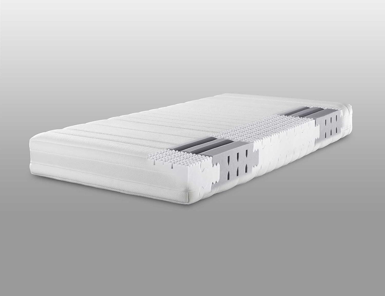 Lattoflex Matratze Sensiv mit Jersey IS und Klimastreifen, softiger Kern für besonders zierliche oder leichtgewichte Menschen (100 x 210 cm)
