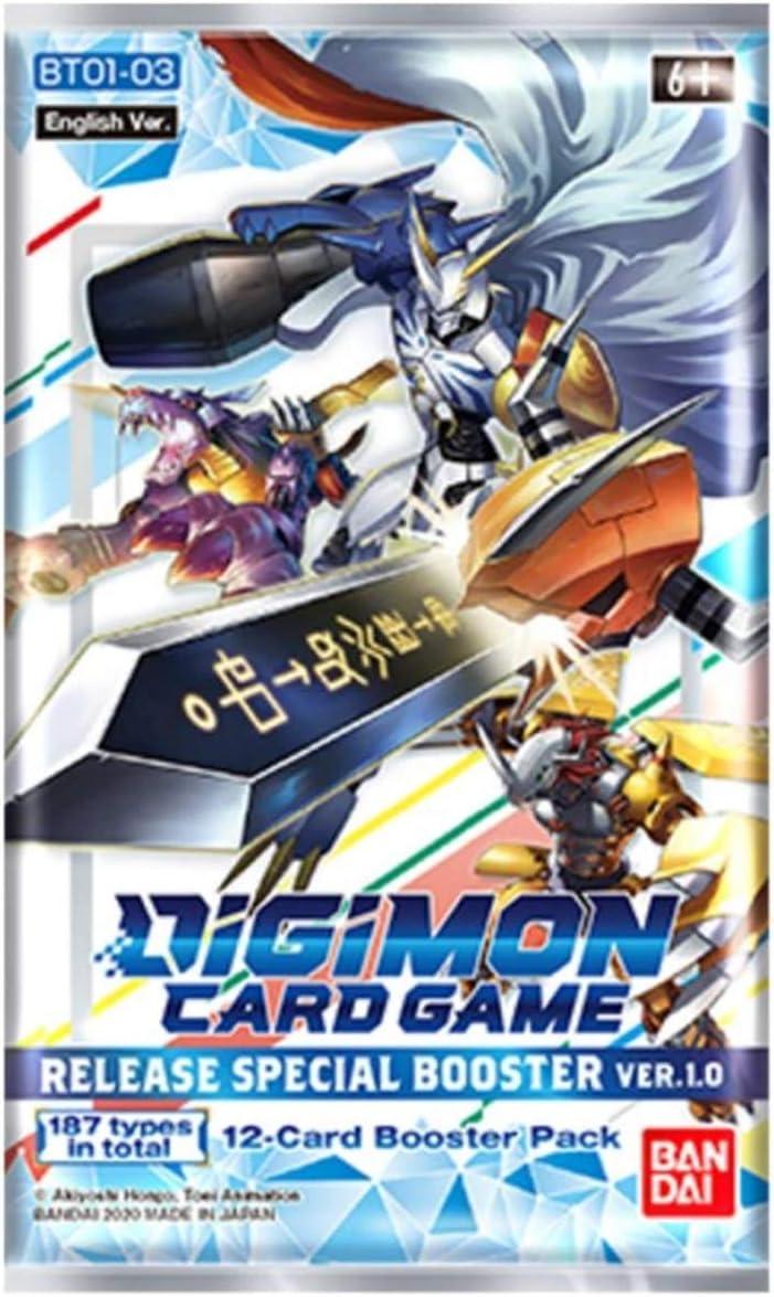 Digimon TCG V1.0 ENGLISH Core Booster Box PRESALE Special Release 2020 Free Ship
