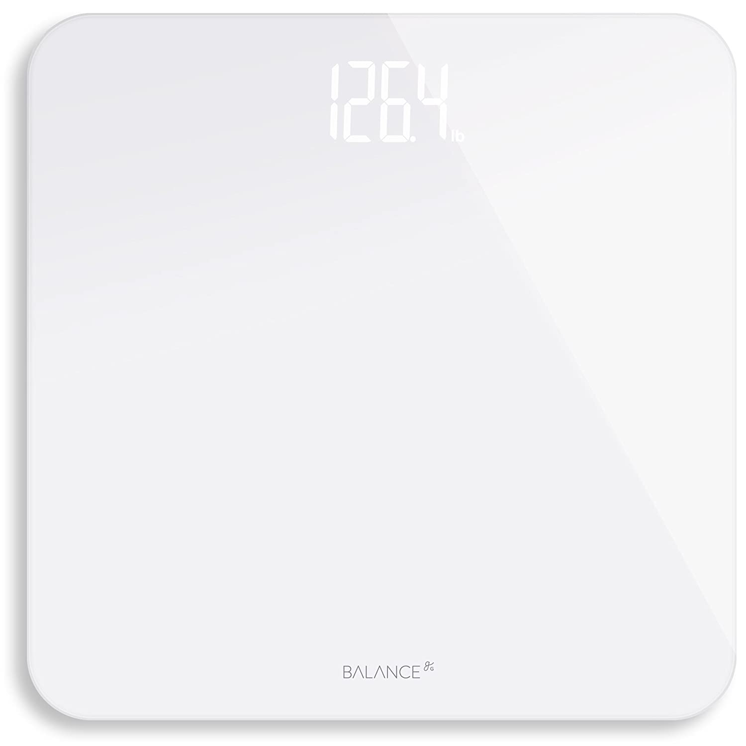 Digital Body Weight Bathroom Scale from GreaterGoods (White) Greater Goods