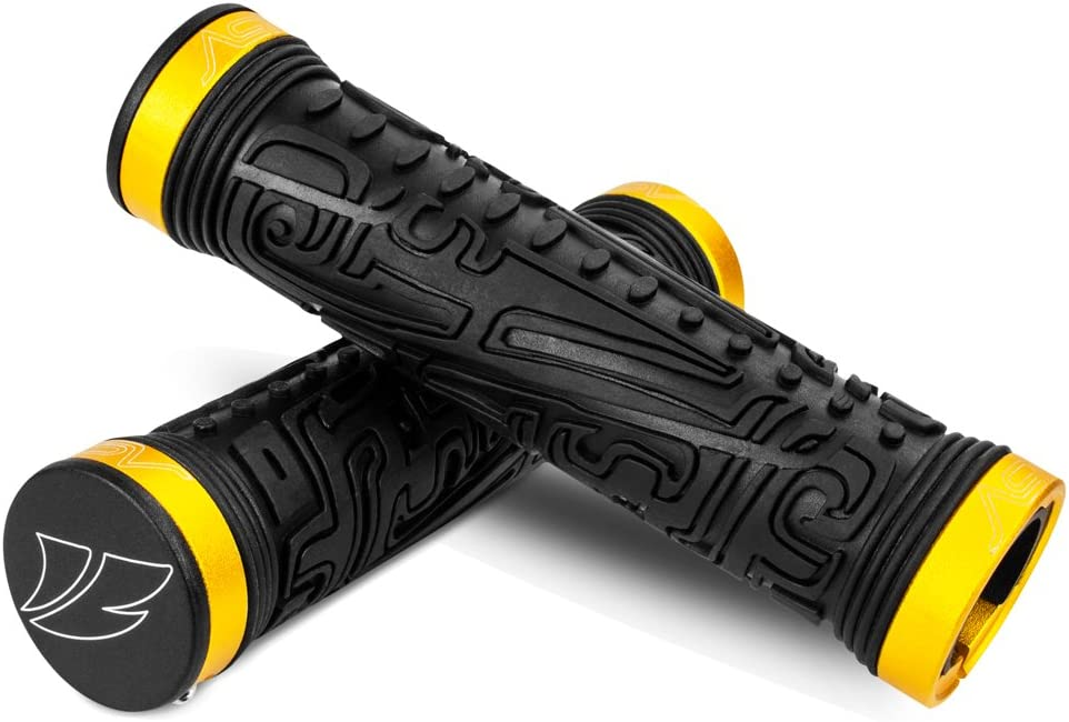 BV Double Lock-on Bike Handlebar Grip