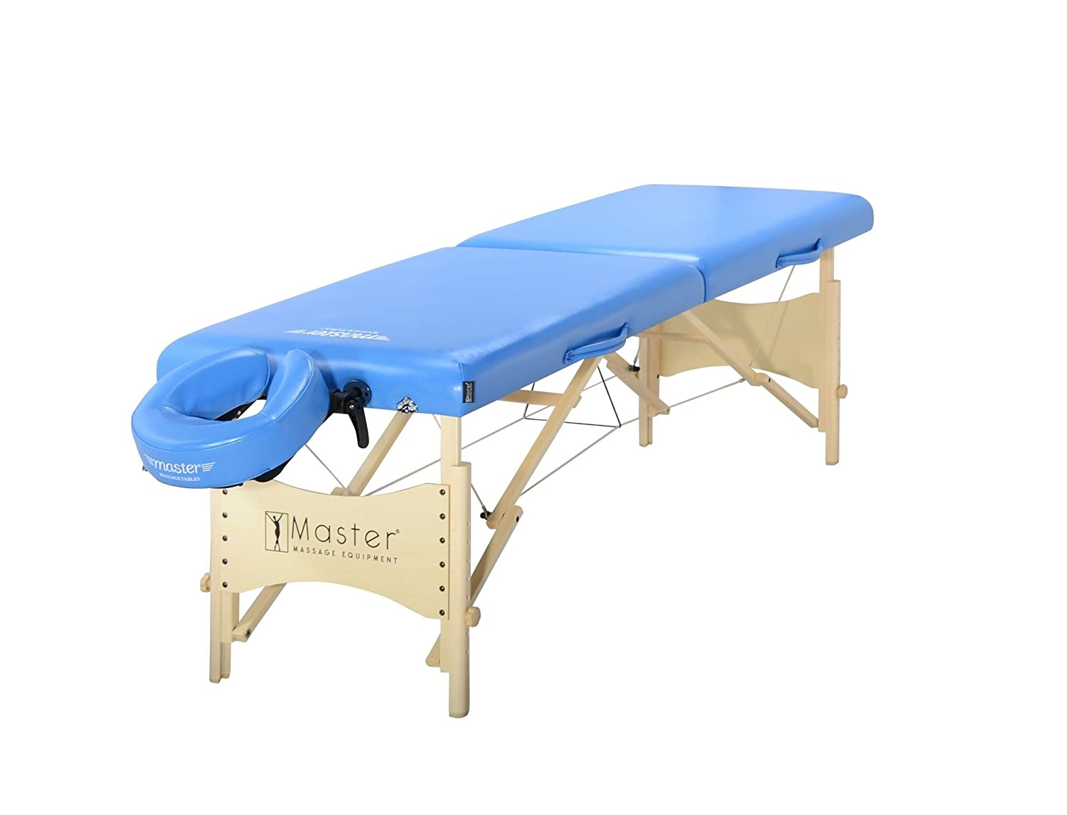 Master Massage Skyline Portable Massage Table Package 28 Inch in Royal Blue