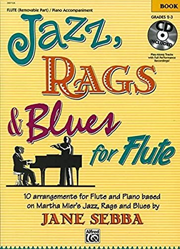 (Jazz, Rags & Blues for Flute: Book &)
