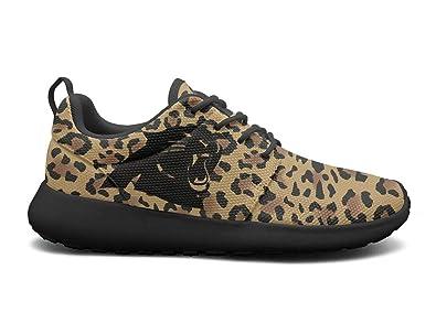 7d5a8d831022 TYTYTY Women's Roshe One Lightweight Animal Leopard Print Skin Snakeskin  Cool Cross-Trainer Running Sneakers